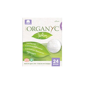 Nursing Cotton Pads 24 Count by Organyc