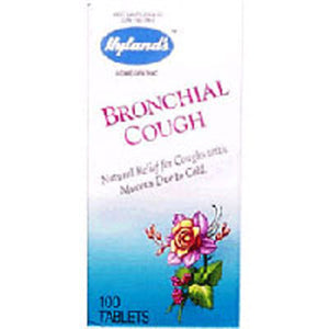 Bronchial Cough 100 Tabs by Hylands