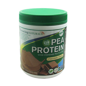 Pea Protein Chocolate 15.8 Oz by Growing Naturals (2590193647701)