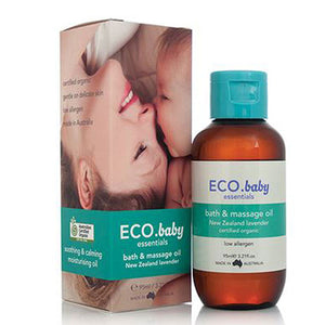 Baby Essentials Bath & Massage Oil 3.21 fl oz by ECO Modern Essentials