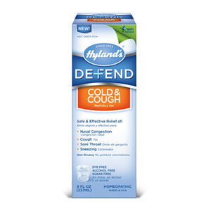 Defend Cold & Cough Nighttime 4 fl oz by Hylands