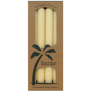 Candle 9 Inch Taper CREAM, 4 PACK by Aloha Bay (2584184684629)