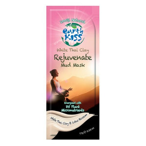 Rejuvenate Mud Mask White Thai Clay 0.59 oz by Earth Kiss (2588348710997)