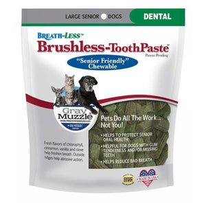 Gray Muzzle Breathless-Brushless Toothpaste Large 7.8 oz by Ark Naturals (2588351856725)