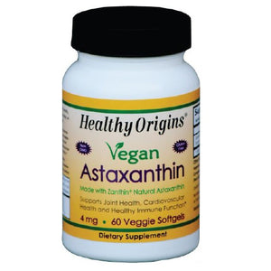 Astaxanthin 60 Veg Softgels  by Healthy Origins (2588353134677)