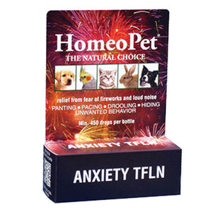 Anxiety TFLN Drops 15 ml by HomeoPet Solutions (2588357427285)