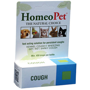 Cough Drops 15 ml by HomeoPet Solutions (2588357591125)