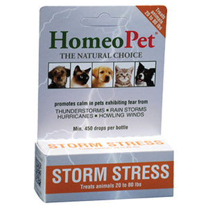 Storm Stress K-9 (20-80lbs) 15 ml by HomeoPet Solutions (2588358639701)