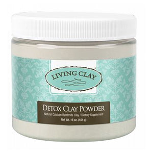 Detox Clay Powder 16 oz by The Living Clay Co