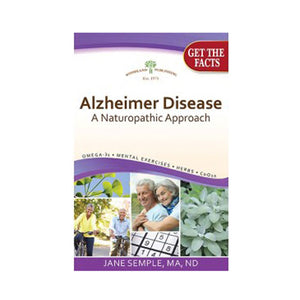 Alzheimer Disease, A Naturophatic Approach 1 Book by Woodland Publishing (2590219337813)