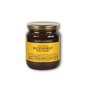Buckwheat Raw Honey 1 lbs by Honey Gardens Apiaries (2588379119701)
