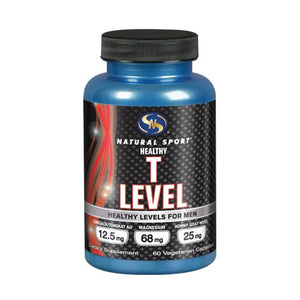T Level Male Performance Capsule 60 Caps by Natural Sport (2590224121941)