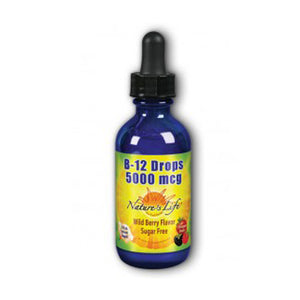 B-12 Drops 2 oz by Nature's Life (2590226808917)