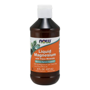 Liquid Magnesium 8 oz by Now Foods