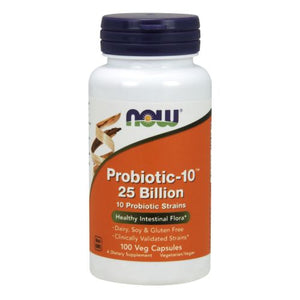 Probiotic-10 100 Veg Capsules by Now Foods
