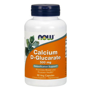 Calcium D-Glucarate 90 Vcaps by Now Foods (2590233034837)