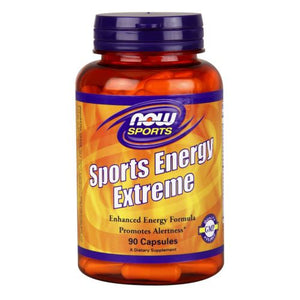 Sports Energy Extreme 90 Caps by Now Foods (2590233133141)
