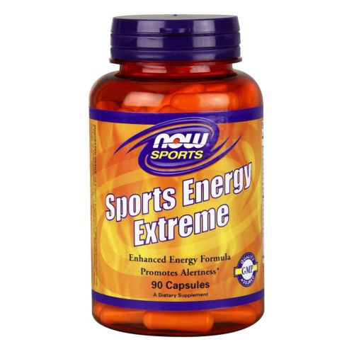 Sports Energy Extreme 90 Caps by Now Foods