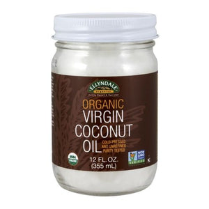 Organic Virgin Coconut Oil 12 oz by Now Foods