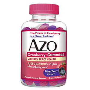 Cranberry Gummies Mixed Berry 72 Gummies by Amerifit Nutrition (2588392620117)