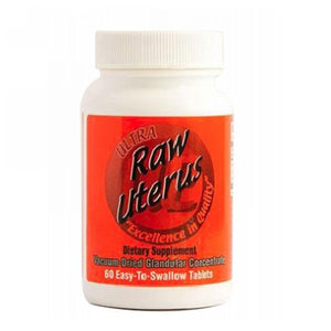 Raw Uterus 60 Tabs by Ultra Glandulars