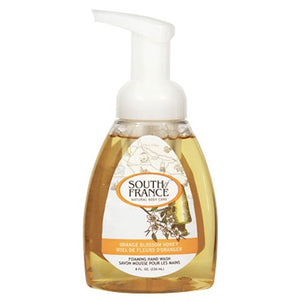 Foaming Hand Wash Orange Honey 8 oz by South Of France Soaps (2590235459669)
