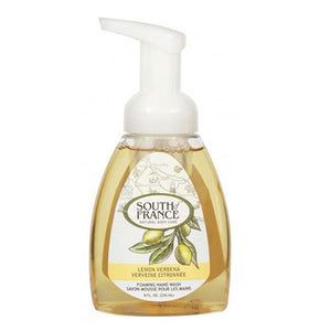 Foaming Hand Wash Lemon Verbana 8 oz by South Of France Soaps (2590235492437)