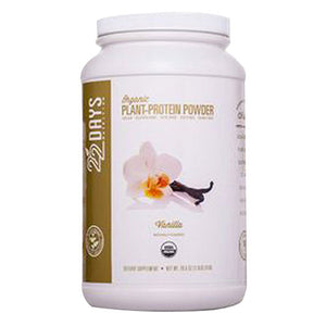 Plant-Protein Powder Vanilla 28.6 oz by 22 Days Nutrition