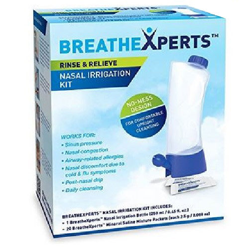 Nasal Irrigation Kit 1 Count by Breathexperts