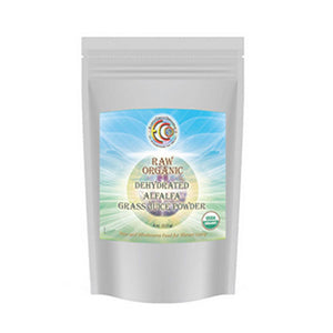 Alfalfa Grass Juice Powder 4 oz by Earth Circle Organics
