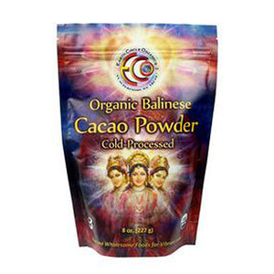 Cacao Powder 8 oz by Earth Circle Organics