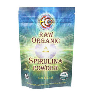 Spirulina Powder 4 oz by Earth Circle Organics