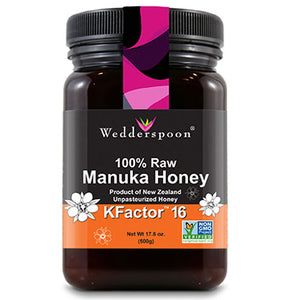 100% Raw Manuka Honey 17.6 oz by Wedderspoon (2588402974805)