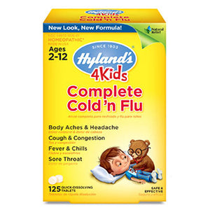Complete Cold N' Flu 125 Tabs by Hylands