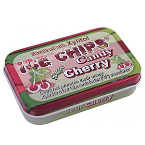 Ice Chips Candy Sour Cherry 1.76 oz by Ice Chips Candy (2588404875349)