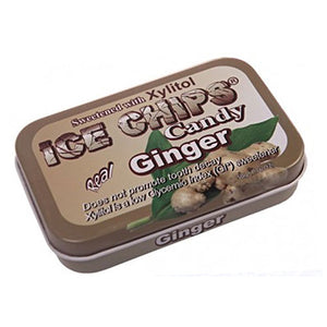 Ice Chips Candy Ginger 1.76 oz by Ice Chips Candy (2588405235797)