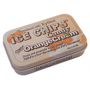 Ice Chips Candy Orange Cream 1.76 oz by Ice Chips Candy