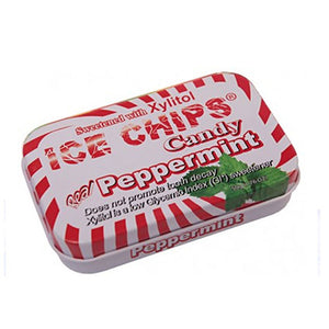 Ice Chips Candy Peppermint 1.76 oz by Ice Chips Candy