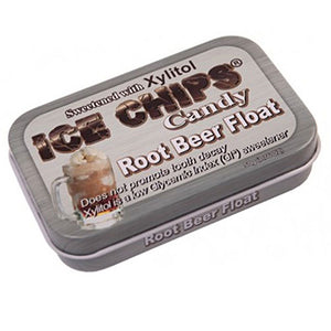 Ice Chips Candy Root Beer Float 1.76 oz by Ice Chips Candy