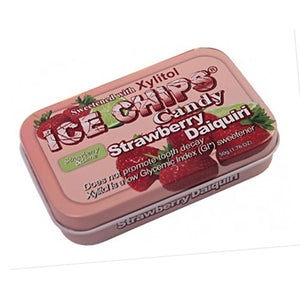 Ice Chips Candy Strawberry Daiquiri 1.76 oz by Ice Chips Candy (2588406120533)