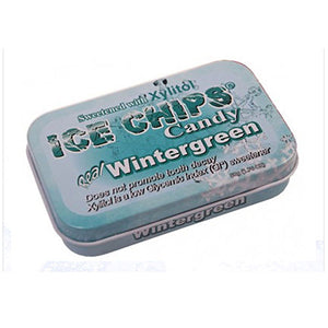 Ice Chips Candy Wintergreen 1.76 oz by Ice Chips Candy