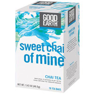 Sweet Chai of Mine Vanilla 18 Bags by Good Earth Teas