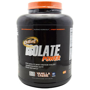 Oh Yeah! Isolate Power Vanilla 4 lbs by ISS Complete