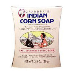 Pine Tar Bar Soap Medium Size 3.25 OZ EA by Grandpa's Brands Company (2584026841173)
