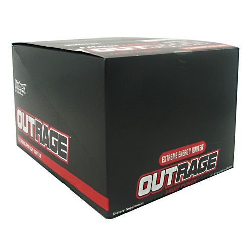 OUTRAGE ENERGY SHOTS Fruit Punch 12 / 4 oz by Nutrex Research