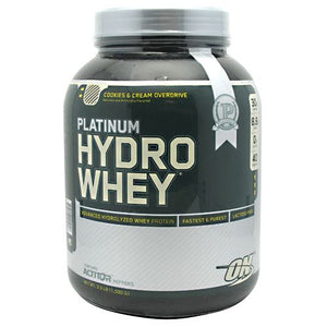 PLATINUM HYDRO WHEY Cookies and Cream 3.5 lbs by Optimum Nutrition