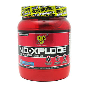 N.O.-Xplode Blue Razz 2.45 lbs by BSN Inc. (2590246207573)