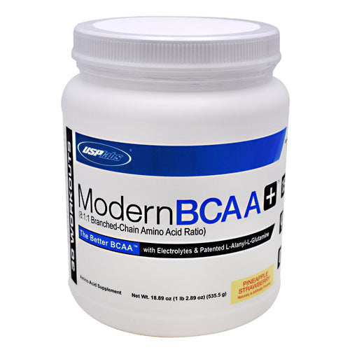 Modern BCAA+ Pineapple Strawberry 18.89 oz by USP Labs
