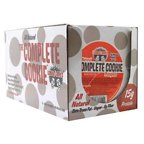 Complete Cookie Pumpkin 4 Oz (Pack of 12) by LENNY & LARRY