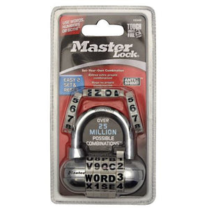 Password Padlock 1 Pack by Master Lock